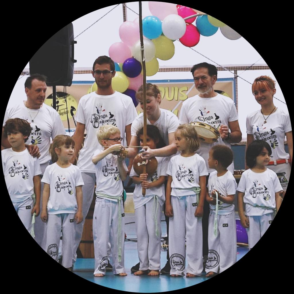 Cours de capoeira pour enfants à Tours